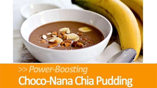 Choco-Nana Chia Pudding Recipe