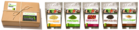 The Superfood Grocer Superfood Sampler Pack