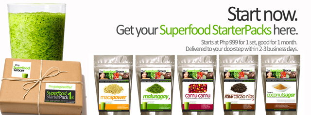 Get healthy! The Superfood Grocer Philippines
