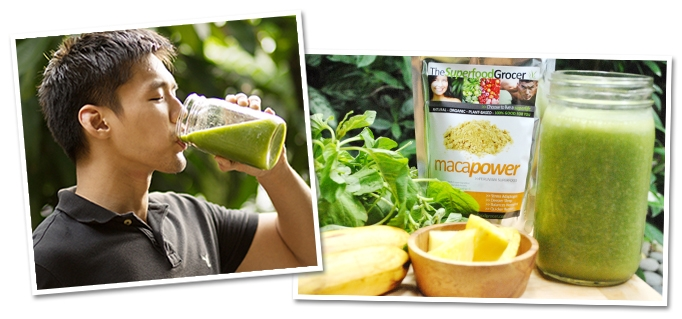 Green Smoothie Recipe | The Superfood Grocer Philippines