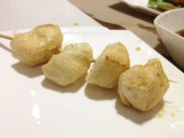 """Fish Balls"" made of Tofu"