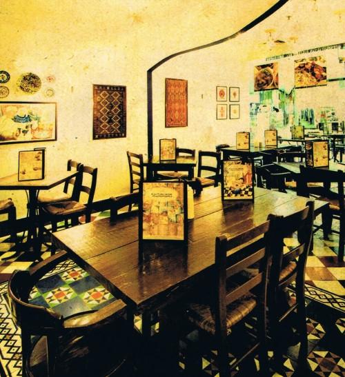 Cafe Mediterranean for plant based eats