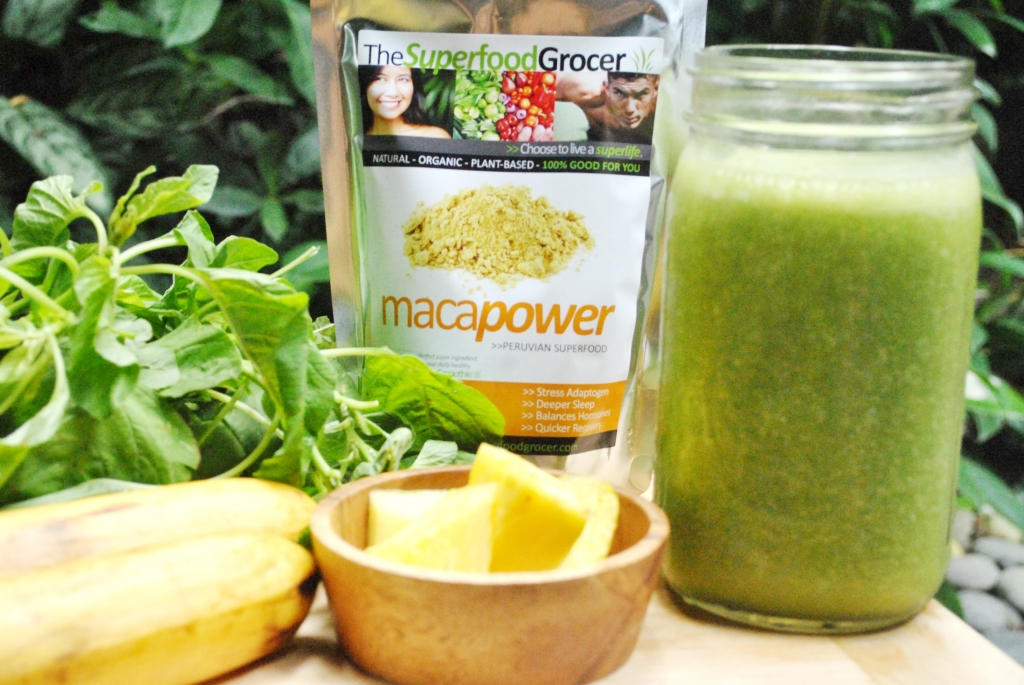 Green Smoothie with Maca