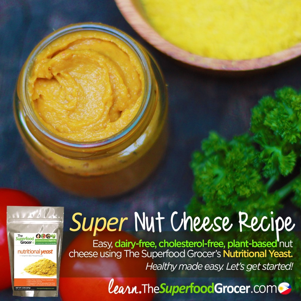 How to make Easy Vegan Nut Cheese Recipe | The Superfood Grocer Philippines