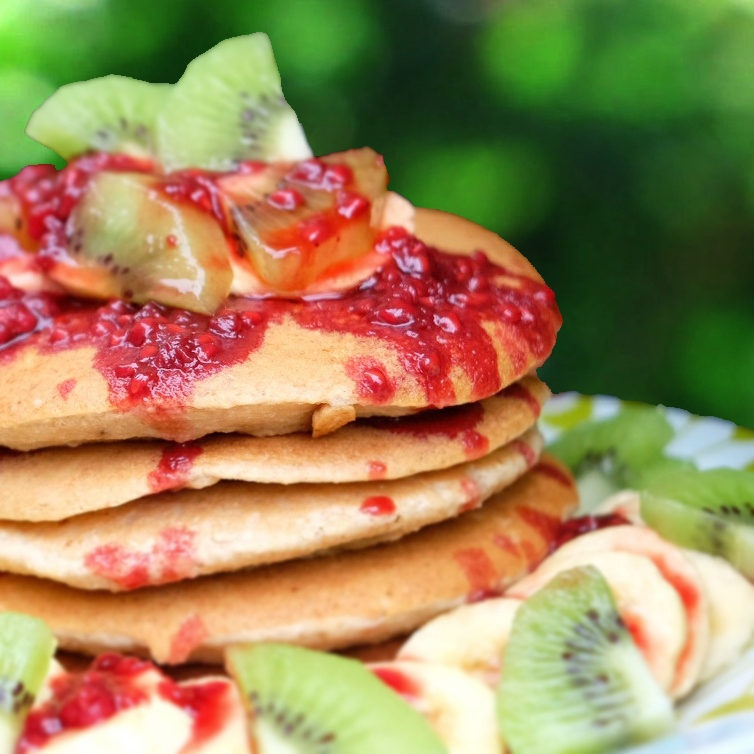 Gluten Free Superfood Oat Pancakes