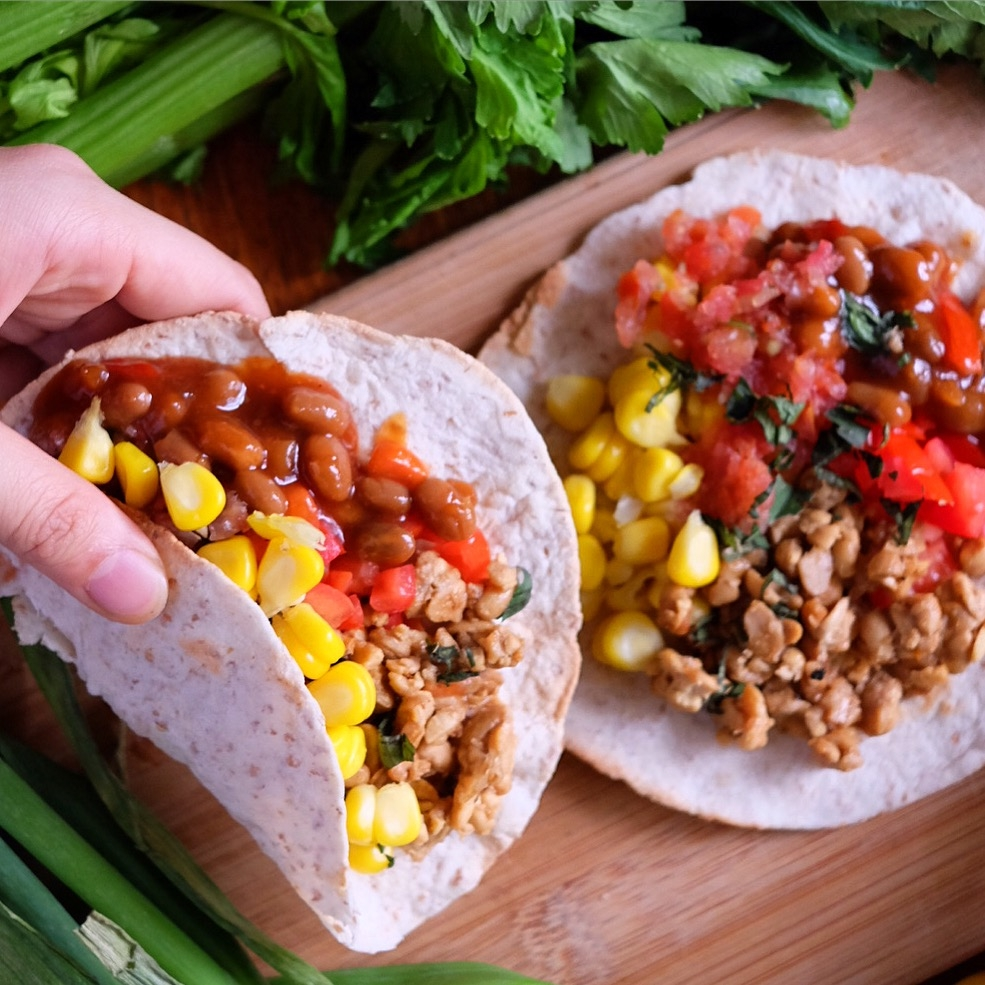 Vegan Tempeh Tacos Recipe