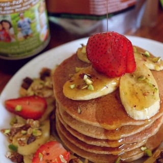 Vegan Oat Pancakes - The Superfood Grocer