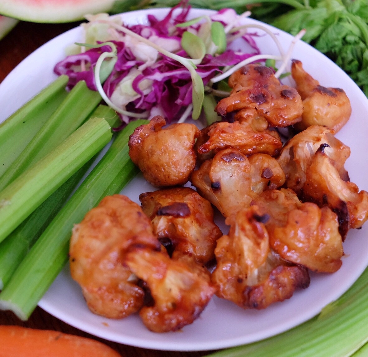Vegan Cauliflower Buffalo Wings Recipe