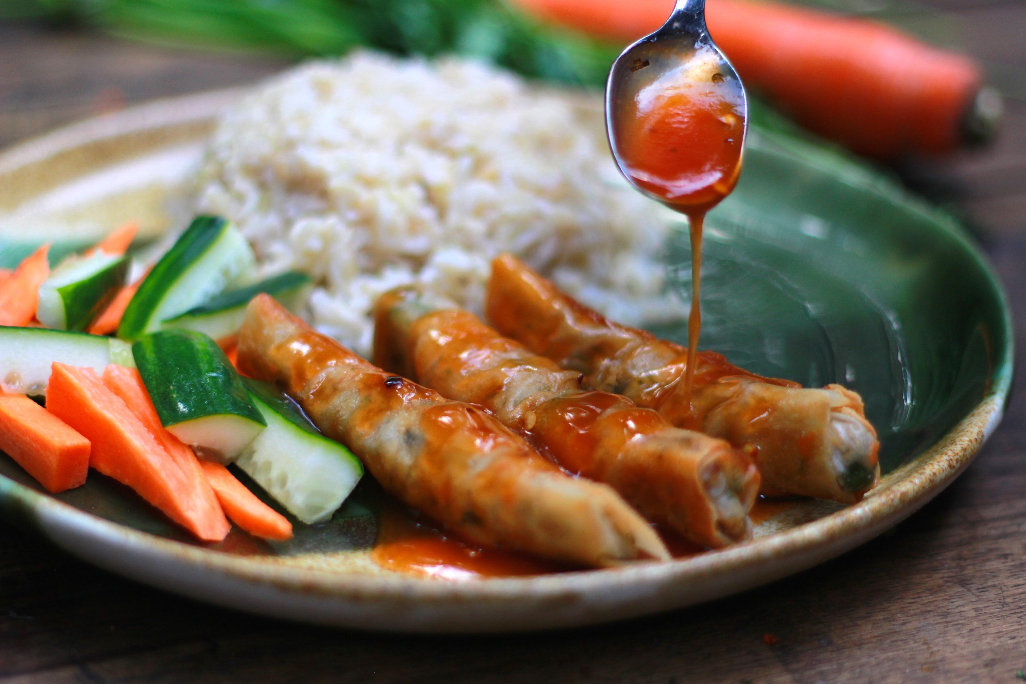 Vegan Lumpiang Shangai Recipe