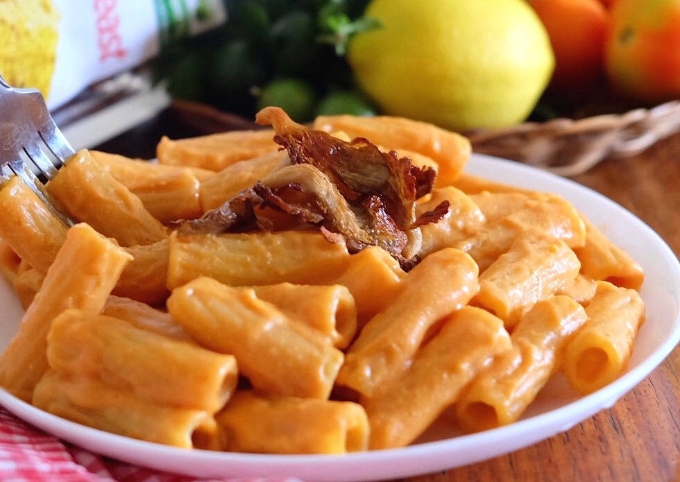Vegan Mac N Cheese with Oyster Mushroom Bacon Recipe