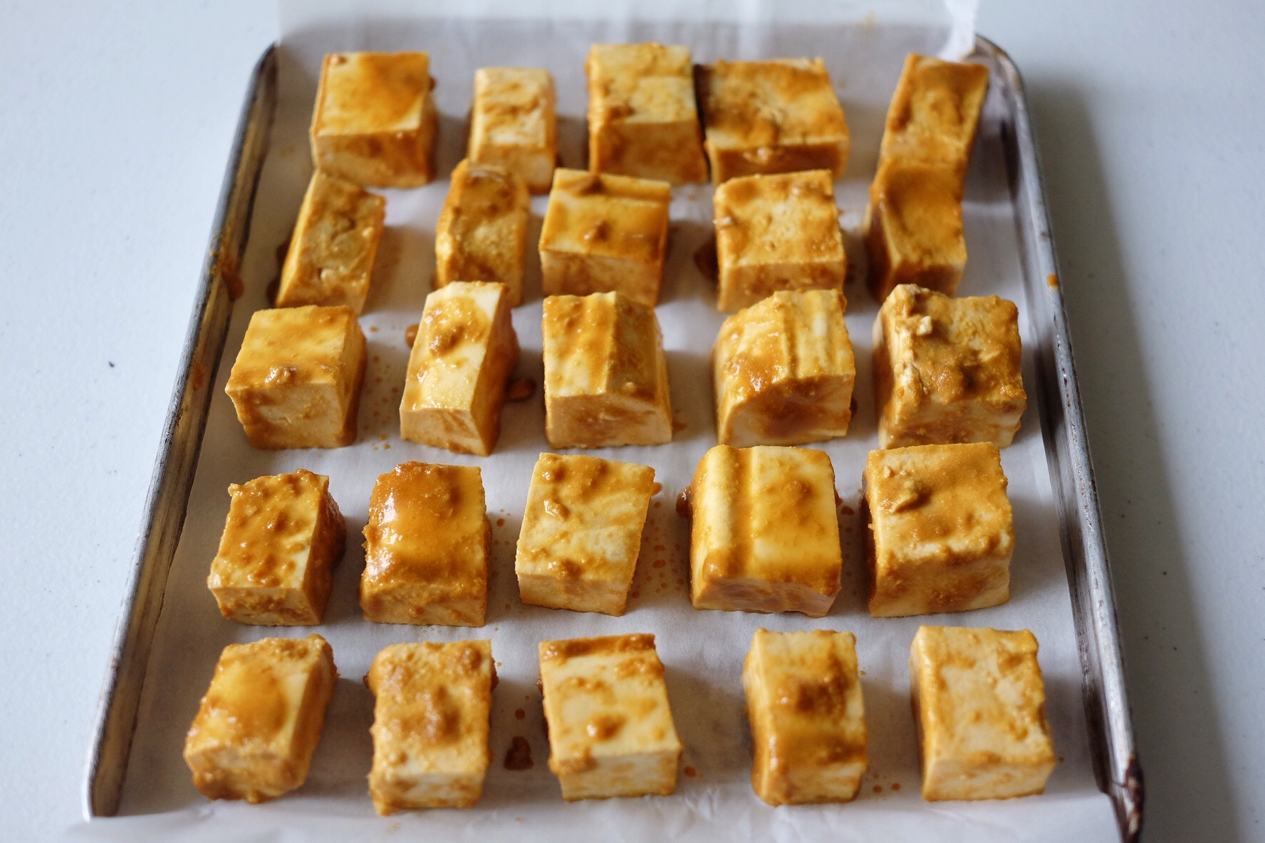 Baked Tofu with Cheesy Nutritional Yeast Recipe - The Superfood Grocer Philippines