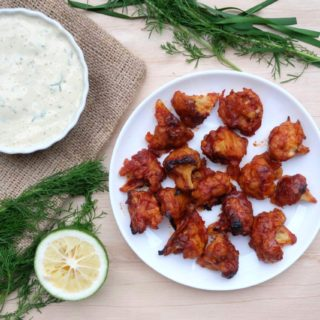 Cauliflower Buffalo Wings with Tofu Ranch Dressing | The Superfood Grocer Philippines
