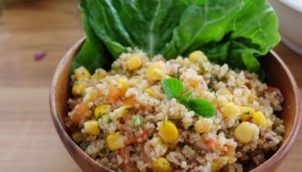 Rainbow Quinoa Bowl