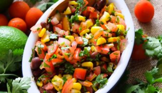 Mexican Inspired Tomato Salsa