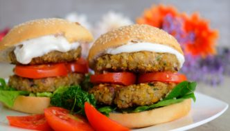 Vegan Chickpea Quinoa Patties Recipe