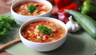 Comforting Vegan Minestrone Soup Recipe